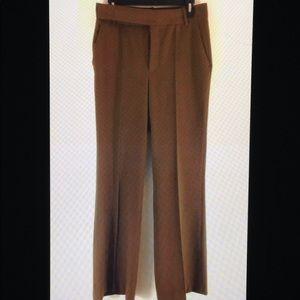 Zara Straight Leg Sam 915 Career Trouser Pants